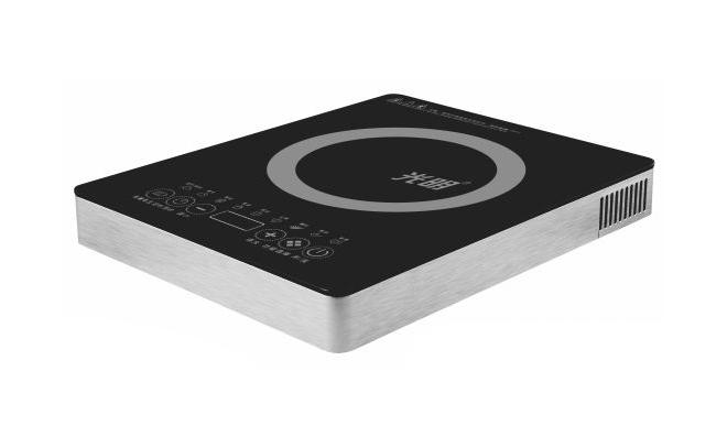 C013(拉丝铝)圆形火锅专用电磁炉