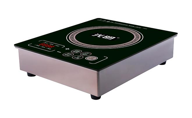 C006(钛金灰)火锅电磁炉圆形