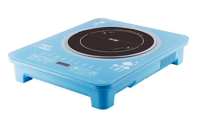 C031(蓝色)单人火锅电磁炉